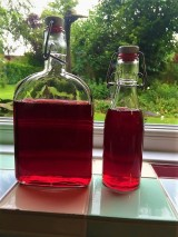 Raspberry Shrub (Drinking Vinegar)