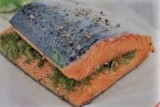 Gravadlax (Dill cured salmon)