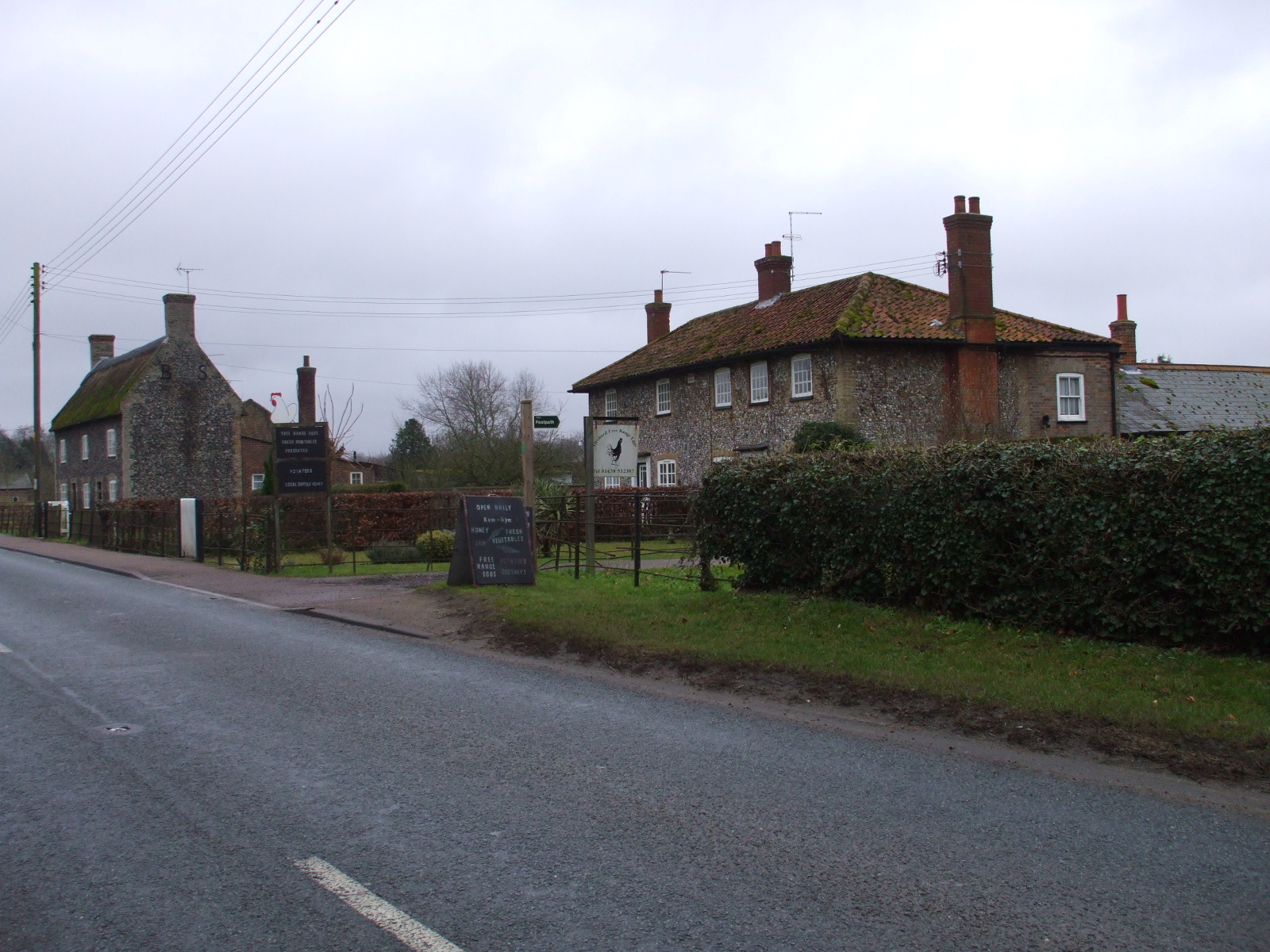 Eriswell village